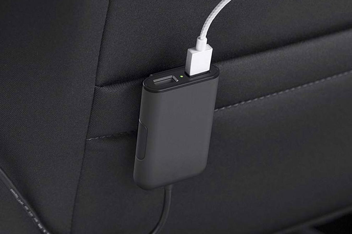 Budi Car Carger автомобильная USB зарядка 7.2A изображение 2
